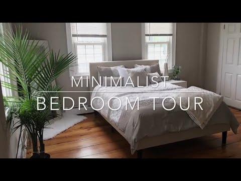 Minimalist Bedroom Tour