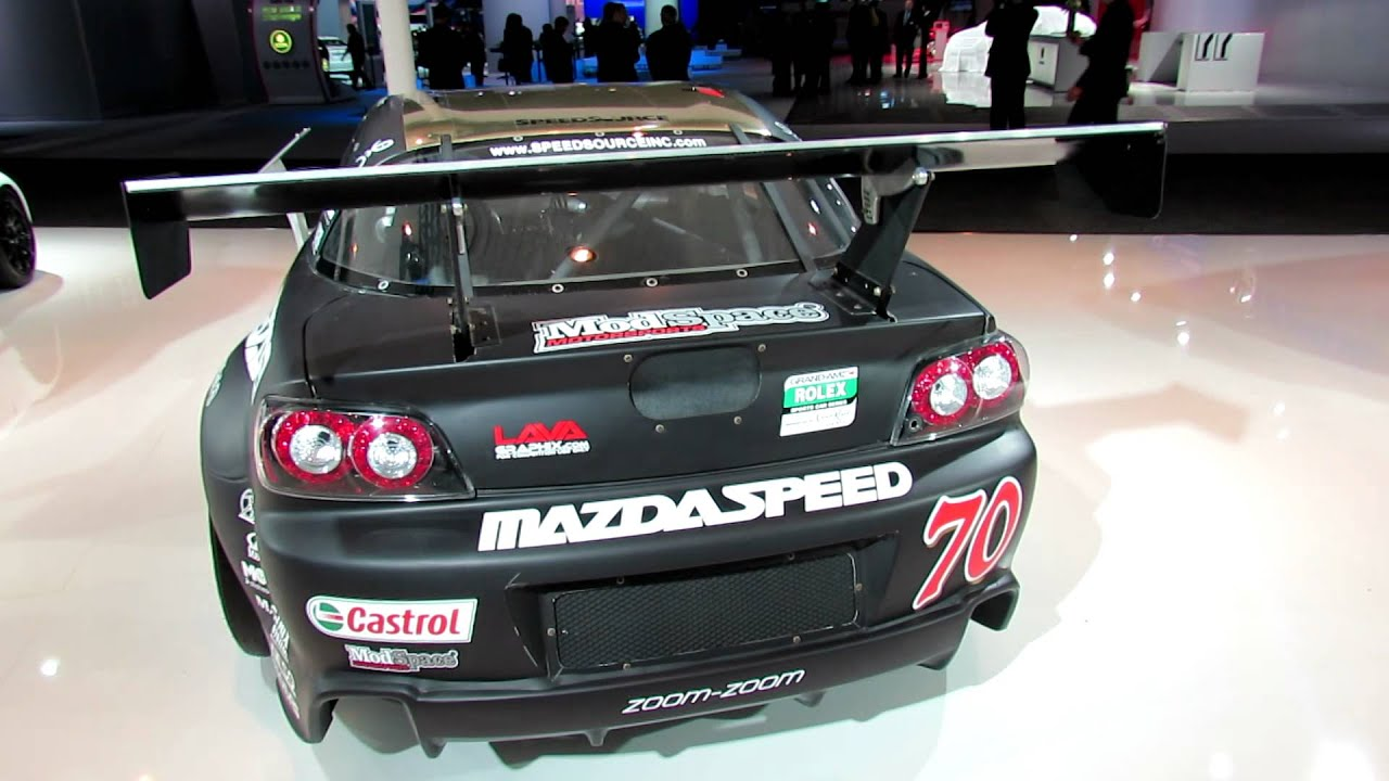 Mazda GRAND-AM GT RX-8 Race Car at 2012 New York International Auto ...