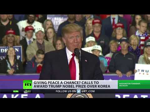 Should Donald Trump get a Nobel Peace Prize over Korea?