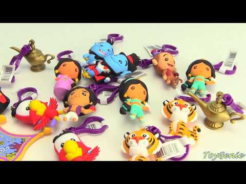 Disney Aladdin Figural Bag Clips Princess Jasmine