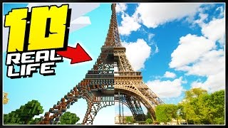 10 INSANE Minecraft Real Life Creations