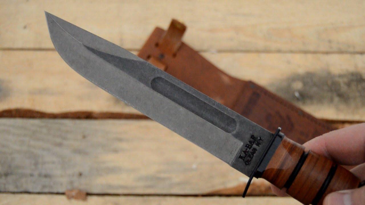 Ka Bar Fighting Utility Knife Mods Youtube