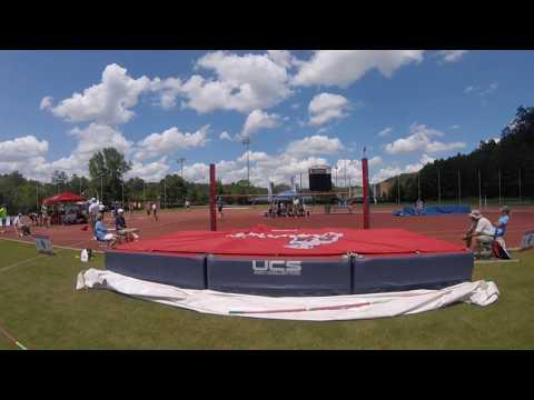 NSGA 2017 M50 High Jump Winning Jump - 6/11/17 - 1.61m 5