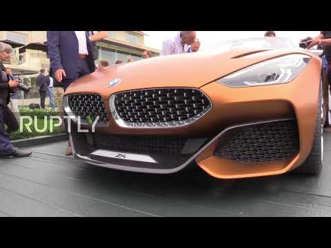 USA: BMW Z4 concept car unveiled at Pebble Beach Concours d