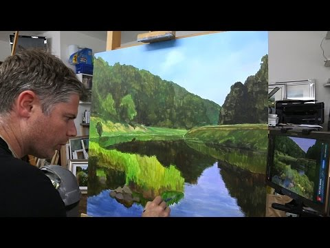 25 how to start an oil painting oil painting tutorial for How to start oil painting