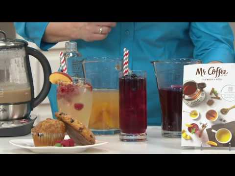 Mr. Coffee 2-in-1 Hot/Cold Tea Maker And Kettle On QVC