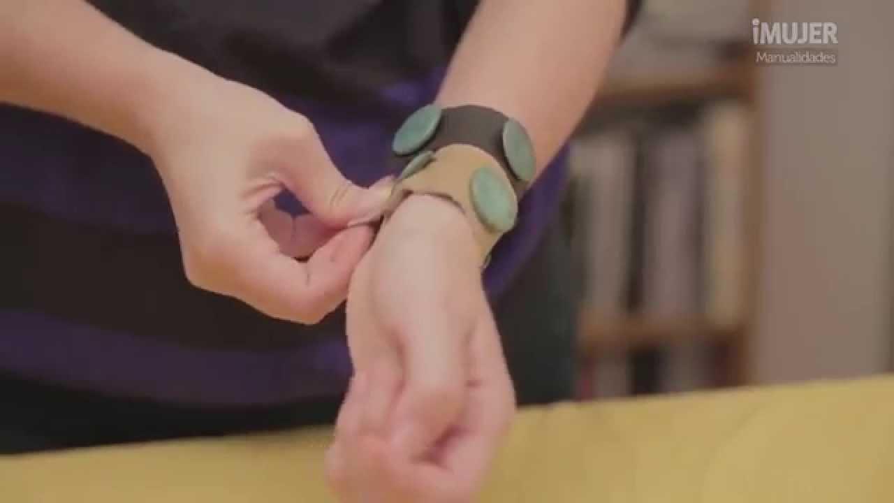 pulseras de cuero cmo hacer pulseras imujerhogar