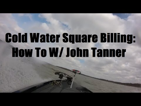 Lake fork bass fishing cold water square bill how to for Cold water bass fishing