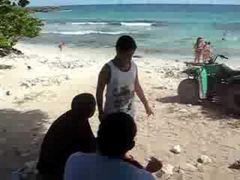 carlitos lagual en bayahibe