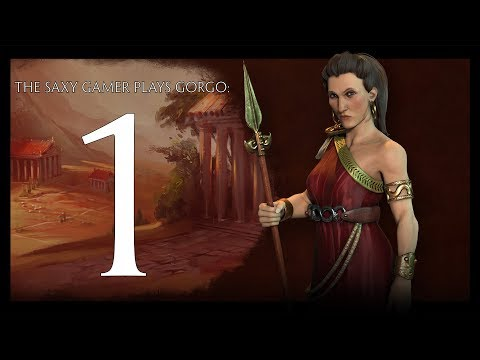 Part 1 - Civilization VI Rise and Fall Deity Game as Gorgo  