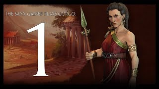 Part 1   Civilization V  Rise And Fall Deity Game As Gorgo