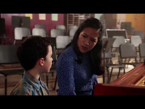 Sheldon  Playing Piano || Young Sheldon