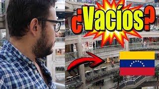 Así son los Centros comerciales en Venezuela ¿Vacíos?