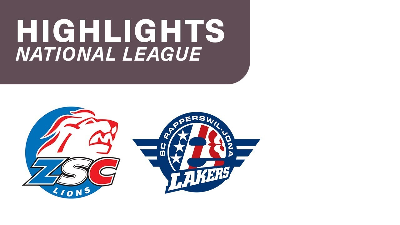 ZSC Lions - SCRJ Lakers 5:2 - Highligts National League