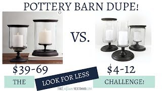 Look for Less Challenge October 2018  Yami & Marie | Pottery Barn Dupe