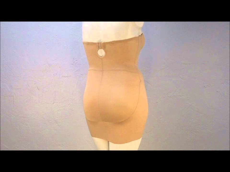 549327b1d9 Style 4032 - TC® Strapless Solutions Bra Slip 360 Shapewear Video ...