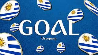 FIFA World Cup Russia 2018 : Goal Uruguay