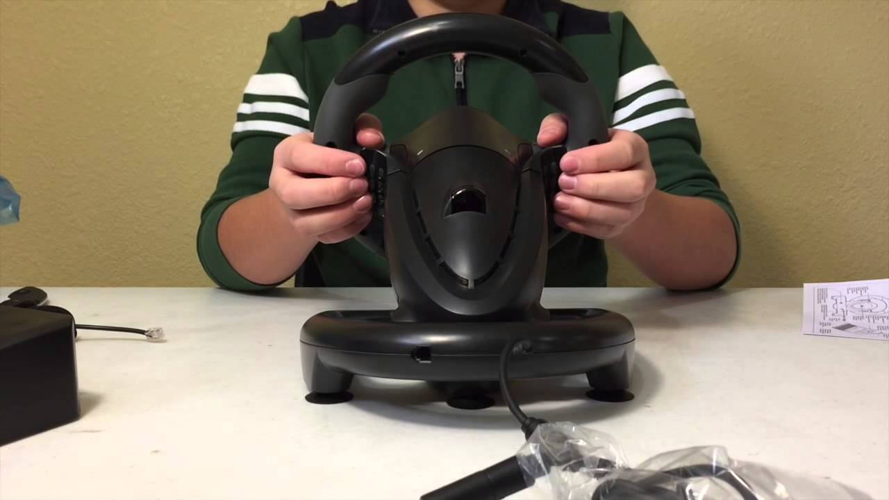 Unboxing The Hori Xbox One Racing Wheel YouTube