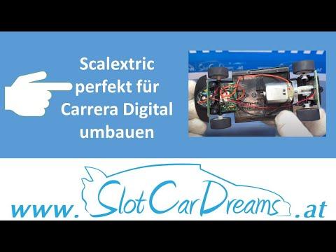 Scalextric perfekt für Carrera Digital umbauen