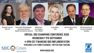 Virtual SDG Champions Conference - Financing SDG Implementation