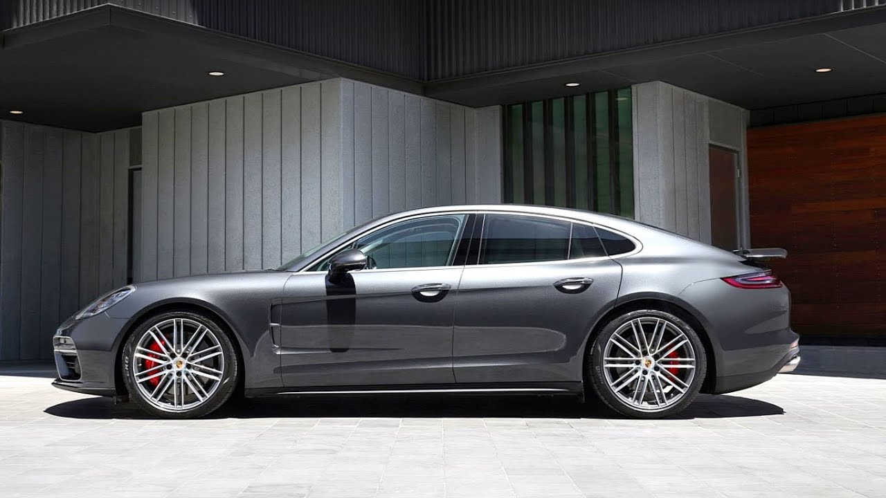 2021 new porsche panamera turbo family sports car  youtube