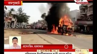 Truck mows down a student in Rampurhat