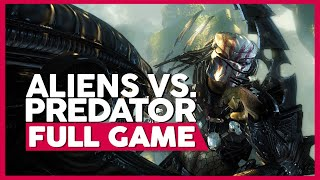 Aliens Vs. Predator (All Campaigns) | Full Gameplay/Playthrough | PC 60ᶠᵖˢ | No Commentary
