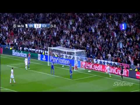 Real Madrid 3-4 Schalke 04 ~ Maç özeti - 10/03/2015