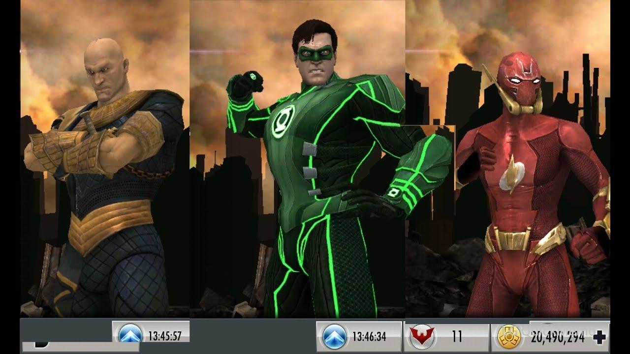 Injustice Mobile: (683) MP with Elseworld Flash, Regime ...