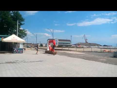 Скадовск   центральный пляж 19.06.17   море 2017