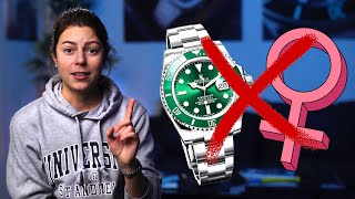 Here's why women don't like watches.   Jenni Elle Q&A   #1