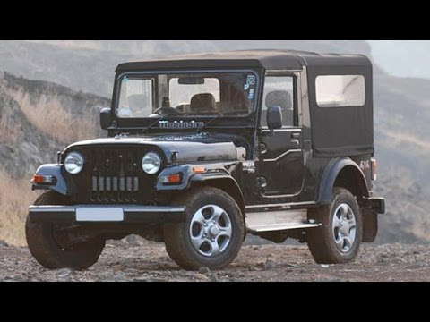 2015 Mahindra Thar Facelift Spied Inside Out Youtube