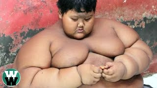 10 Obese Children Who Can't Stop Eating!