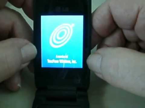 Trac Fone LG430G - Flip Phone