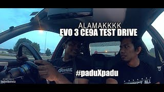 PADU TAK PADU - EVO 3 CE9A BY 199 GARAGE (ON BOARD REVIEW)