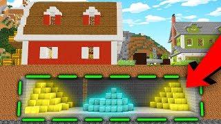 CO ZNALEŹLIŚMY POD FARMĄ?! | Minecraft Farma #8