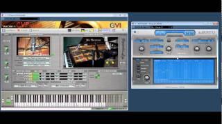 cv piano with kirnu midi arpeggiator test