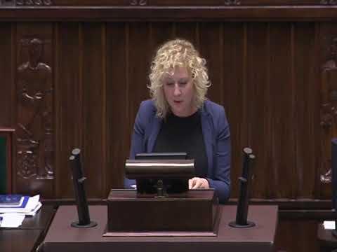 Marta Golbik  – wystąpienie z 23 listopada 2017 r.