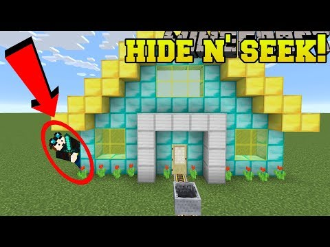 Minecraft: MINECRAFTERS HIDE AND SEEK!! - Morph Hide And Seek - Modded Mini-Game