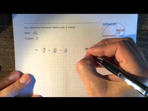 Lambacher Schweizer 6. Klasse S.16 Nr.5 - YouTube