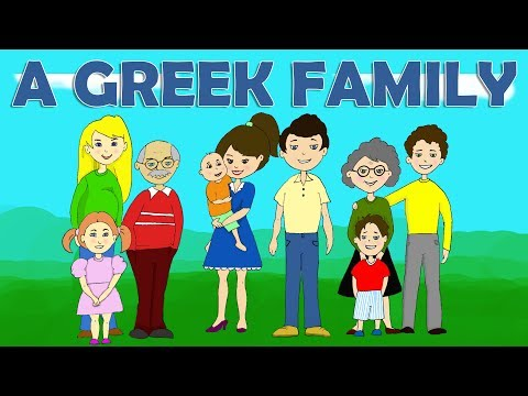 Learn Greek: Vocabulary |Part 1: Η οικογένεια - The Family (+ Grammar & Syntax Notes)