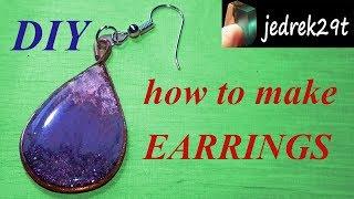 Earrings. DIY. Easy !!!