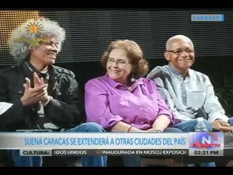 Jorge Rodríguez anuncia Suena Caracas 2016 con 29 conciertos y 96 agrupaciones