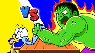 Live: Hulk Army VS Max | Pencilanimation Short Animated Film | The Incredible Max and Puppy dog