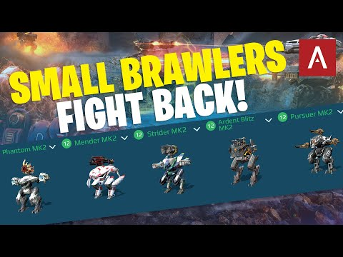 War Robots - SMALL BRAWLERS Dream Hangars Episode 76 WR Max Gameplay