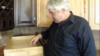 Dovetail Cabinet Drawer Construction Austin Texas Www.centexcabinets.com 512-222-8060.mp4