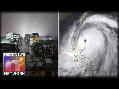 China DEVASTATED! World's Strongest Storm - Typhoon Mangkhut Carves Path of Death Through Hong Kong
