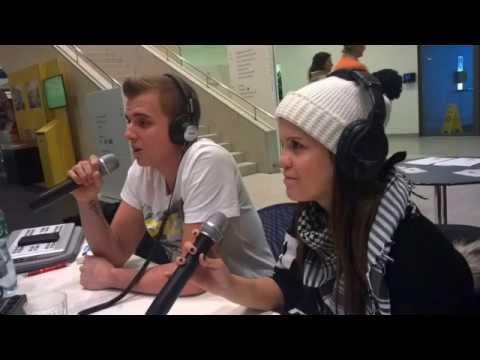 Radio S (Interview) 02.01.2015 - Dan Daniels & Miss D-Star