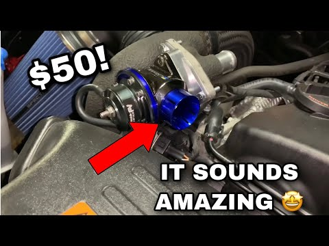 HOW GOOD IS A EBAY BLOW OFF VALVE? | Genesis Coupe 2.0