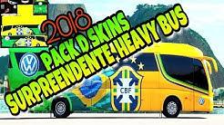 Download Do PACK de SKINS para Heavy Bus Simulator??#PACK ATUALIZADO 2018